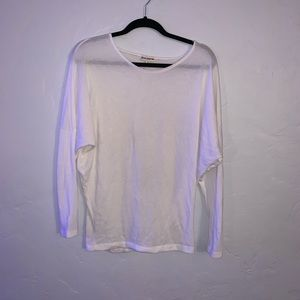 SUPER SOFT White Long Sleeve Zenana Outfitters
